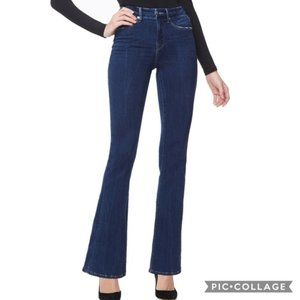 Good American Good Flare Stretch Jeans